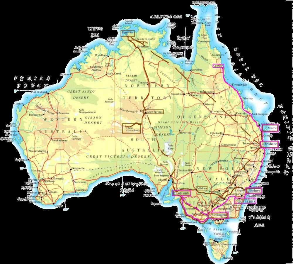 Reiseberichte aus downunder   www.australienberichte.de